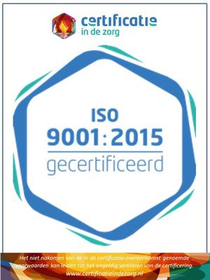 Certificatie ISO9001 in de zorg